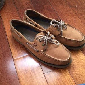 Sperry Leeward 2 eye Sahara Boat Shoe